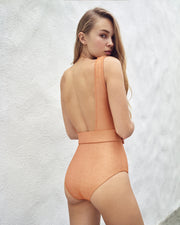 LILY & ROSE | BLAIZ | Juliet Copper One Piece Swimsuit