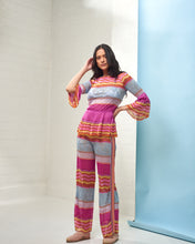 Load image into Gallery viewer, Wide Leg Zig Zag Trousers