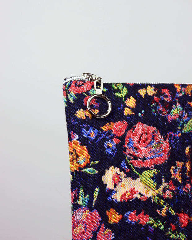 227 | BLAIZ | Wild Flowers Frida Kahlo Pouch Bag