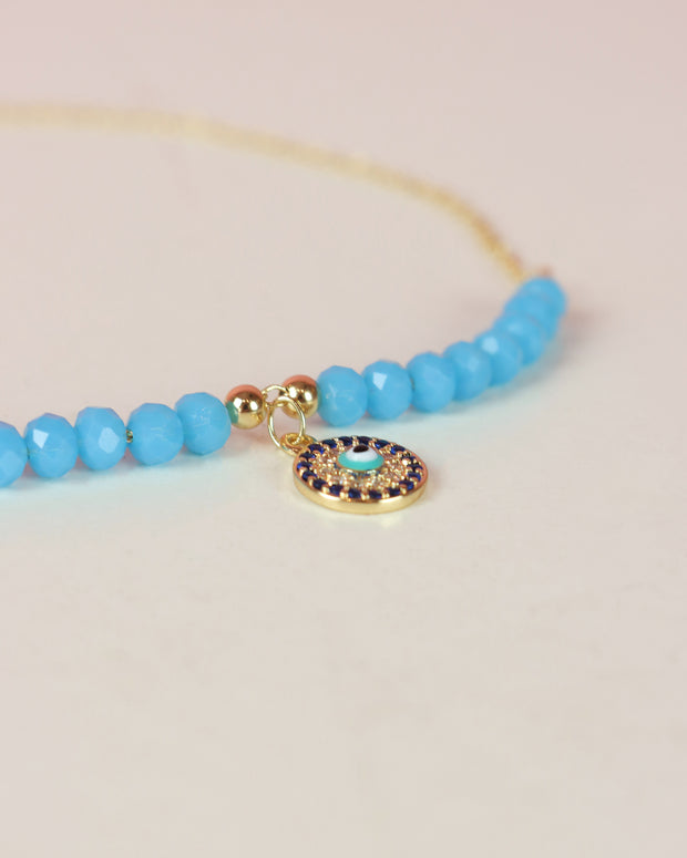 Turquoise Pendant Anklet