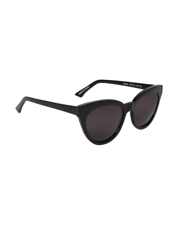 BY HELENA BORDON | BLAIZ | Black Martini Cat Eye Sunglasses