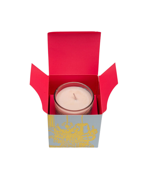 Black Pomegranate Organic Candle