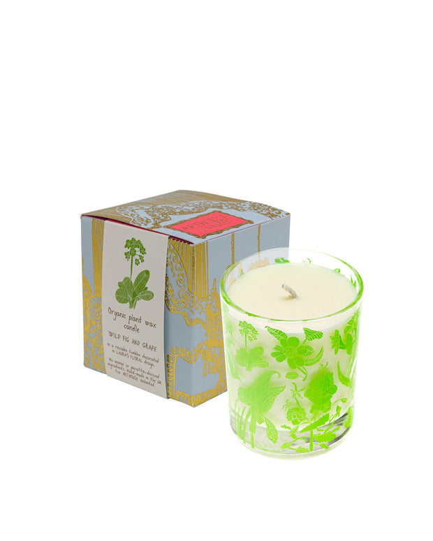 Wild Fig & Grape Organic Candle