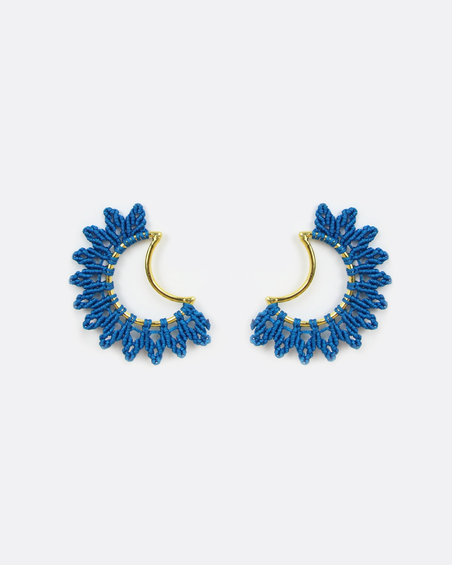 Joy Gold & Blue Moon Earrings