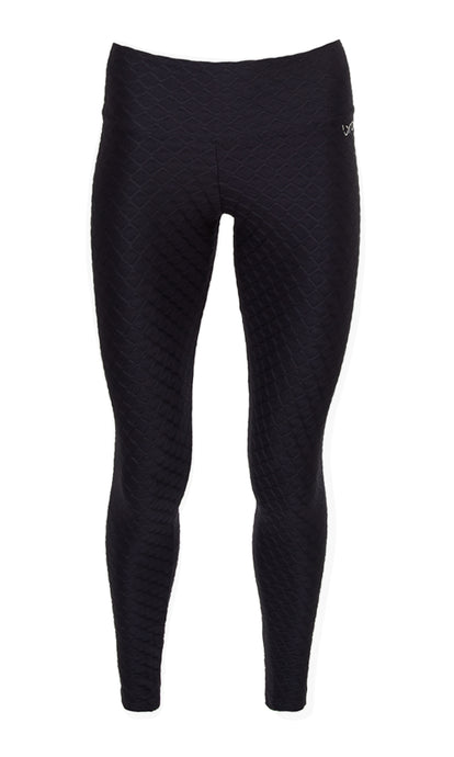 Black Glow Compression Leggings