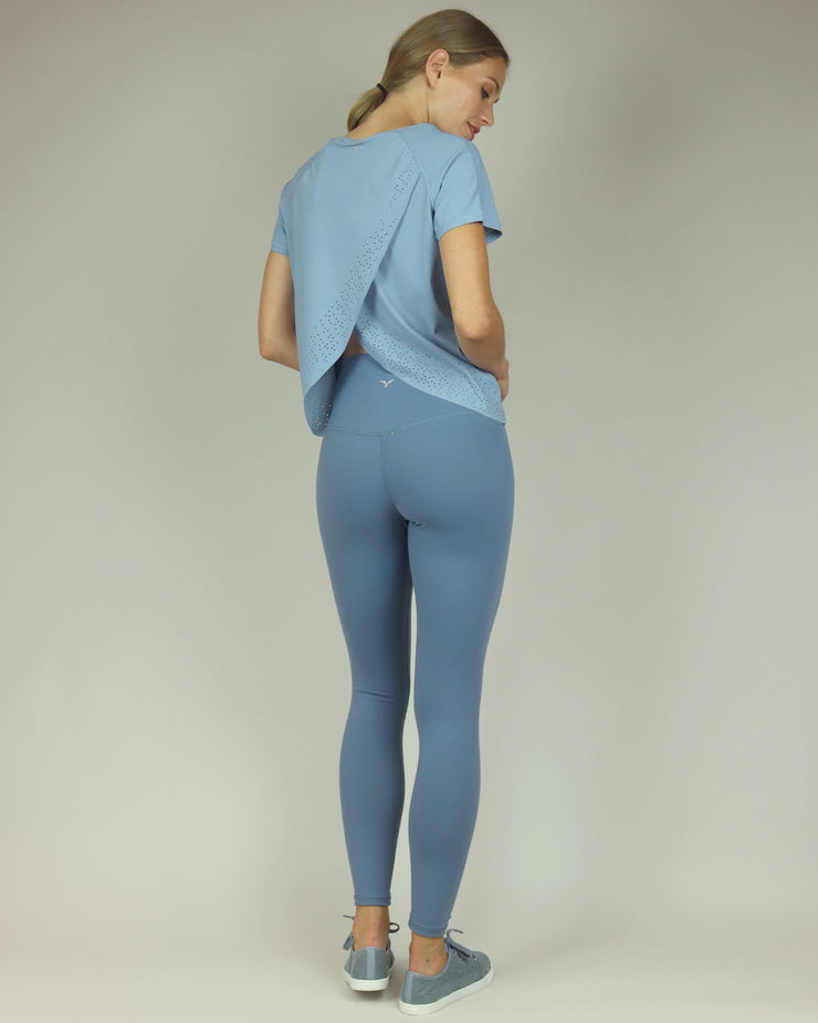BLAIZ | BLAIZ | Dusty Blue High Waisted Leggings