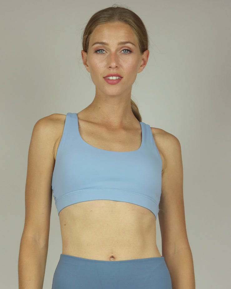 BLAIZ | BLAIZ | Dusty Blue Sports Bra