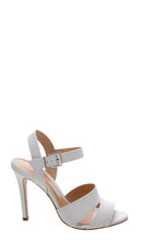 Load image into Gallery viewer, White High Heel Sandals