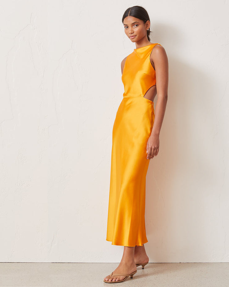 Seraphine Cut Out Midi Dress