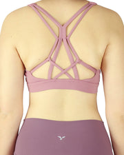 Dusty Pink Sports Bra