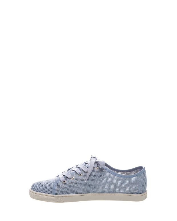 AREZZO | BLAIZ | Dusty Blue Mesh Sneakers Light Blue Trainers Tennis Shoes Flats Autumn