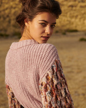 Load image into Gallery viewer, Lavender Cropped Sweater