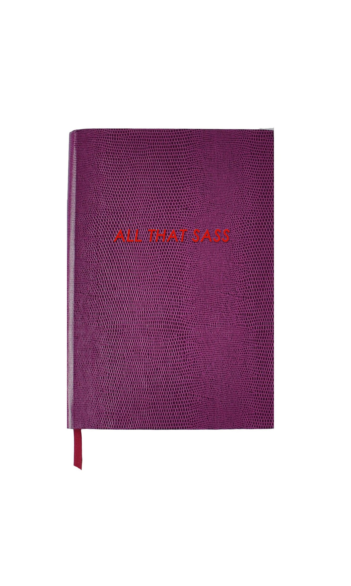 All That Sass Small Notebook