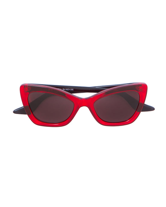 Red Brooklyn Sunglasses