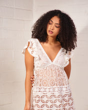 Load image into Gallery viewer, Nicole Ivory Lace Dress