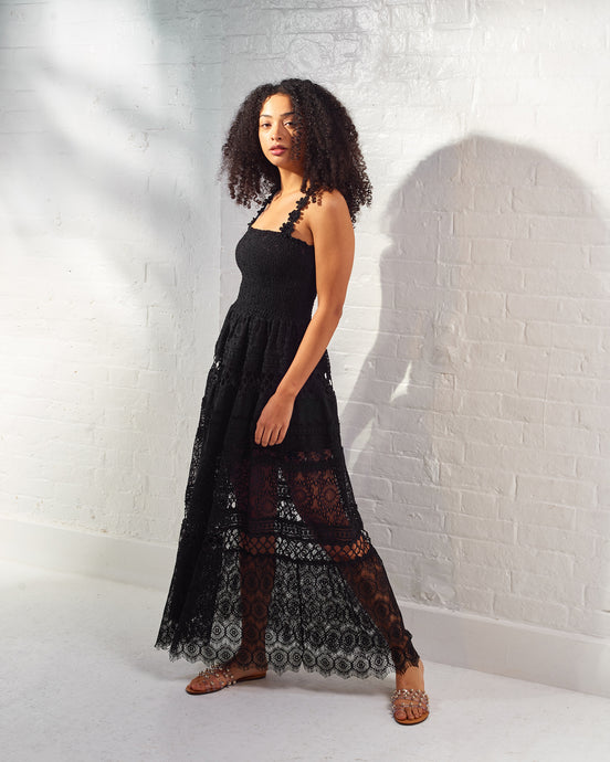 Dolce Vita Chantilly Lace Maxi Dress