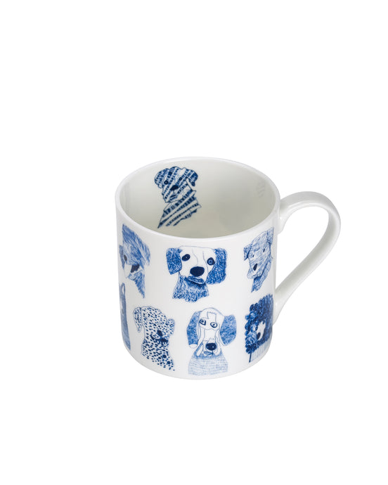 Blue Dogs China Mug
