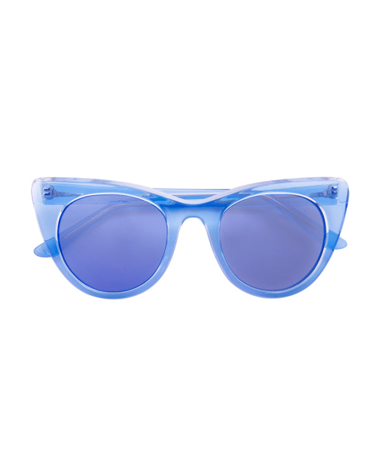 Blue Doshow Cat-Eye Sunglasses