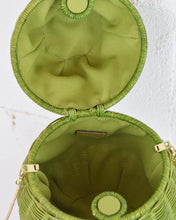 Load image into Gallery viewer, Green Pear Cross Body Bag
