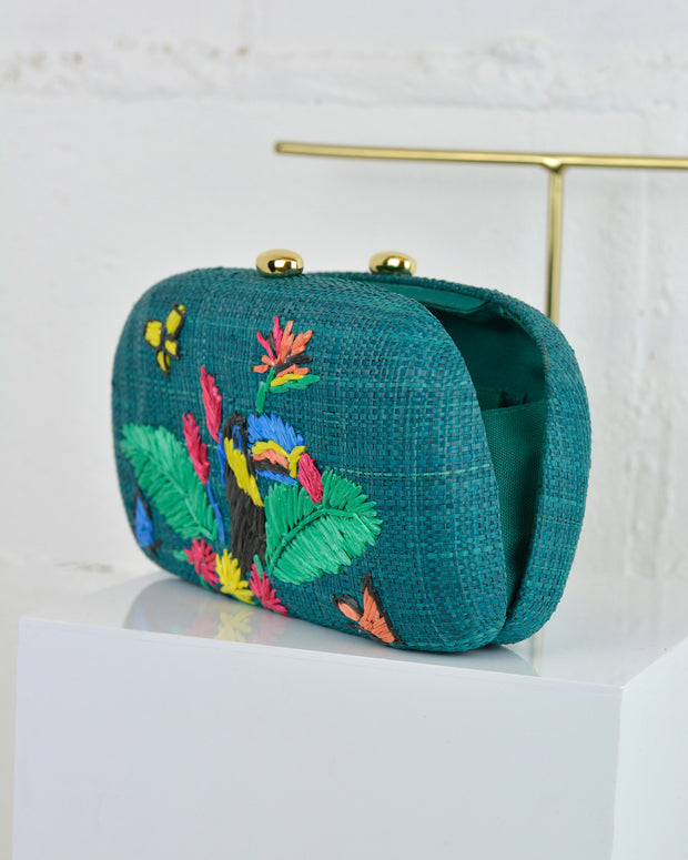 Green Mia Toucan Shoulder Bag