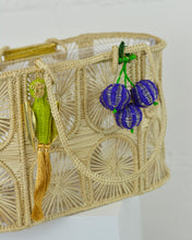 Load image into Gallery viewer, Woven Parakeet Mini Tote Bag