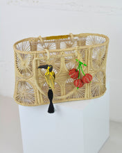 Load image into Gallery viewer, Woven Parrot Mini Tote Bag