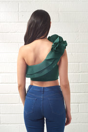 Emerald Green Vos Two Piece