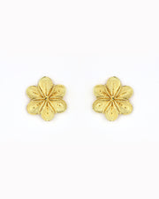 ANA CAROLINA VALENCIA | BLAIZ | Gold Garden Rose Earrings