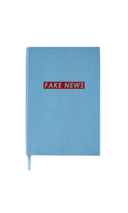 Fake News Small Notebook