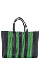Load image into Gallery viewer, Green & Black Tote Bag