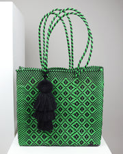 Bella Medium Woven Tote Bag