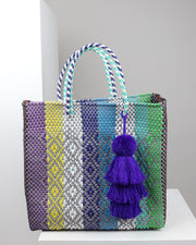 Giuliana Medium Woven Tote Bag