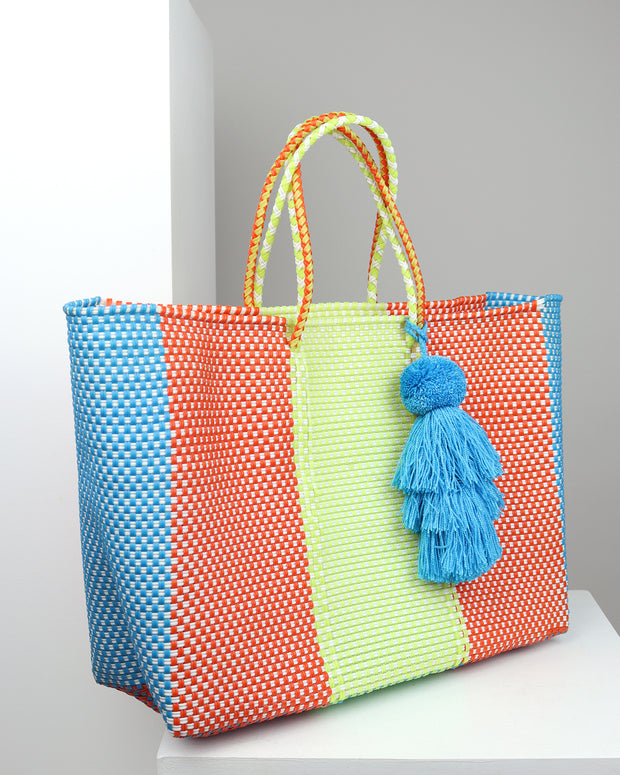 Catalina Large Woven Tote Bag