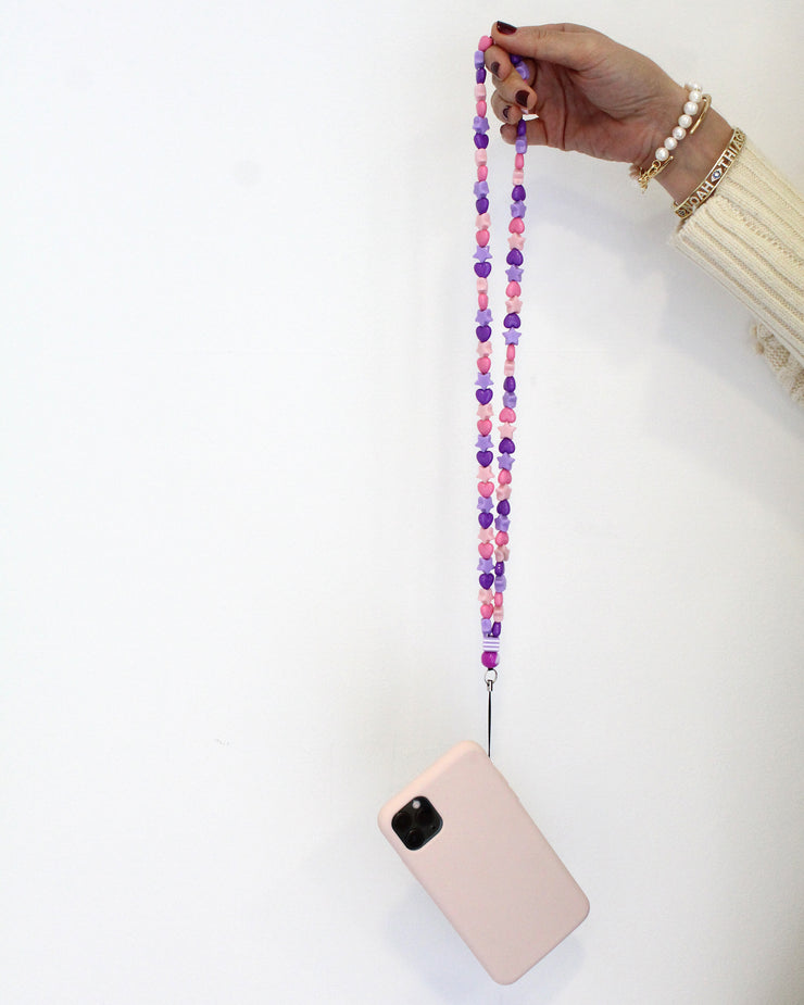 Perito Moreno Beaded Phone Necklace