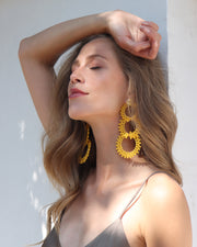 Yellow Infitrio Hoops