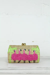 Natural Flamingo Farah Shoulder Bag