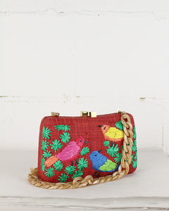 Red Marissa Shoulder Bag