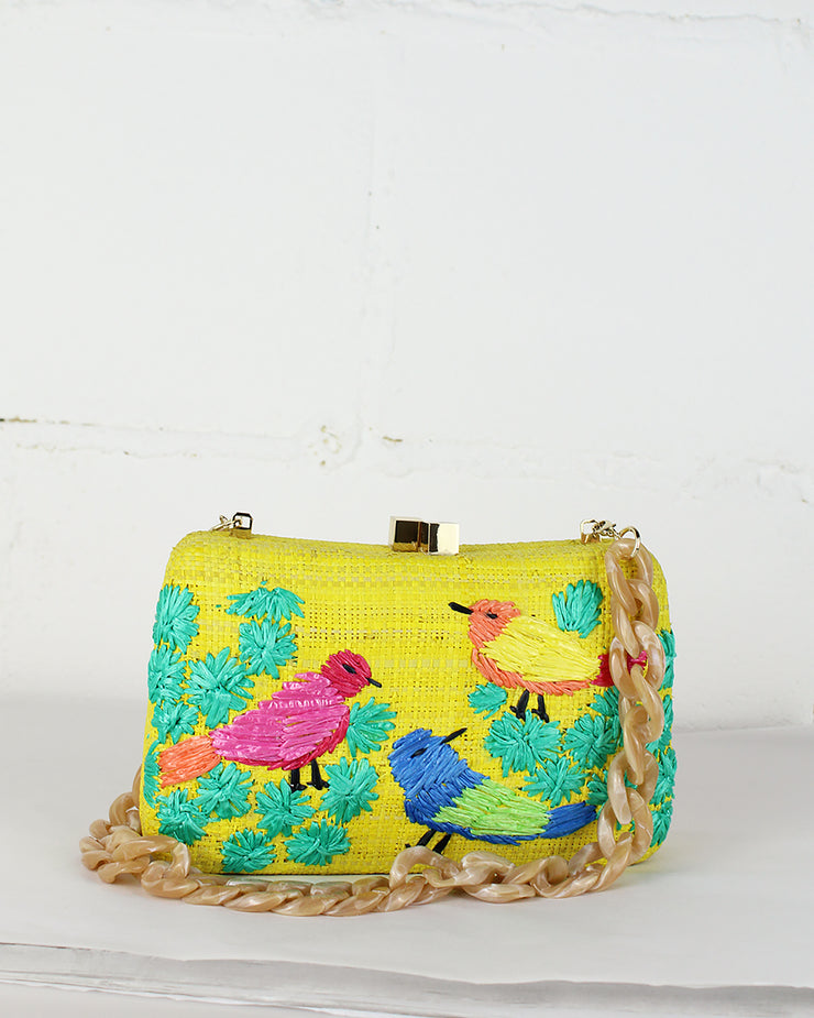 Yellow Marissa Clutch Bag