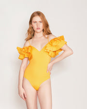 Canary Yellow Blas Bodysuit