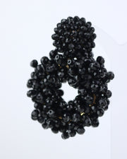 227 | BLAIZ | Black Beaded Earrings