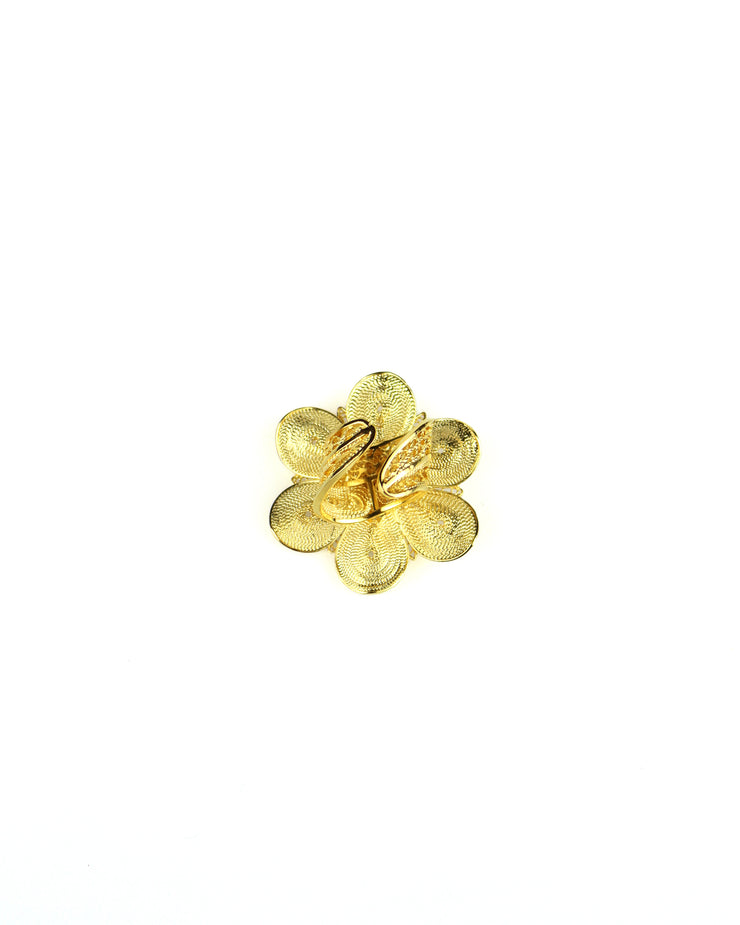 ANA CAROLINA VALENCIA | BLAIZ | Gold Arabian Flower Ring