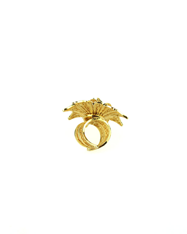 Gold Rhapsody Rose Ring