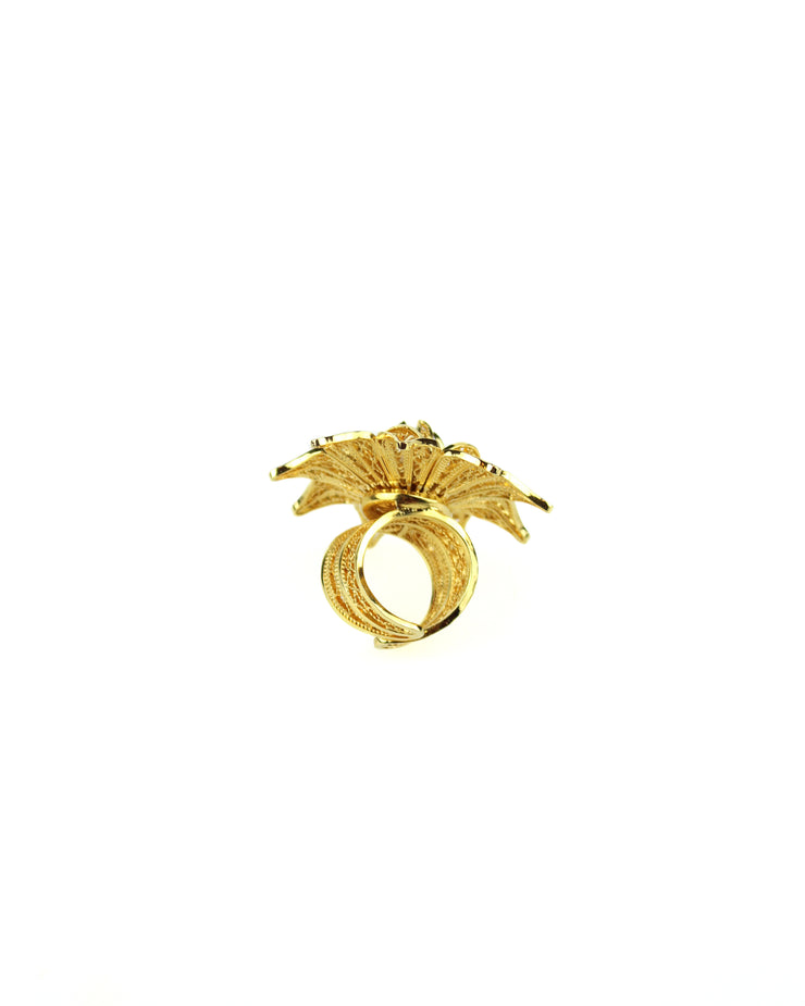 ANA CAROLINA VALENCIA | BLAIZ | Gold Rhapsody Rose Ring