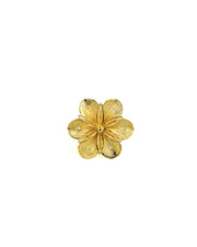Gold Arabian Flower Ring