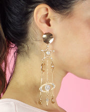 BLAIZ | 227 | Stars, Moon & Planets Earrings