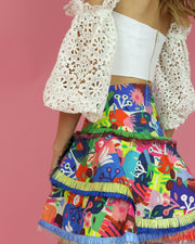 CELIAB | BLAIZ | Frilled Mini Skirt