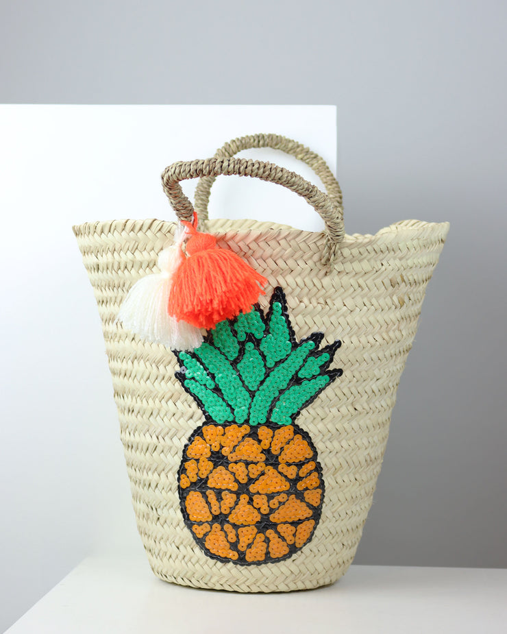 Pineapple Basket Bag