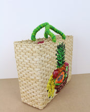 Load image into Gallery viewer, Large Fruit Salad Straw Bag