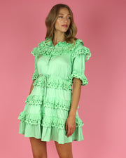 Mint Cherry Dress