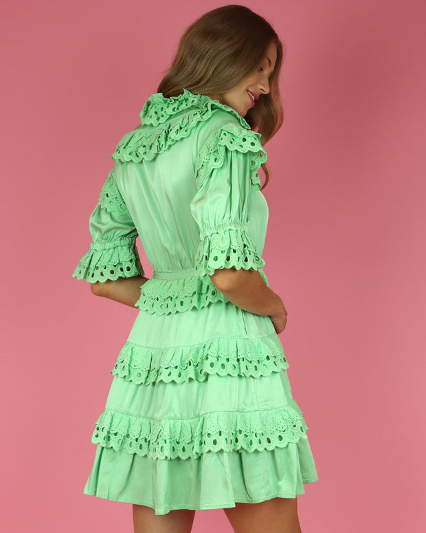 CELIAB | BLAIZ | Mint Cherry Dress